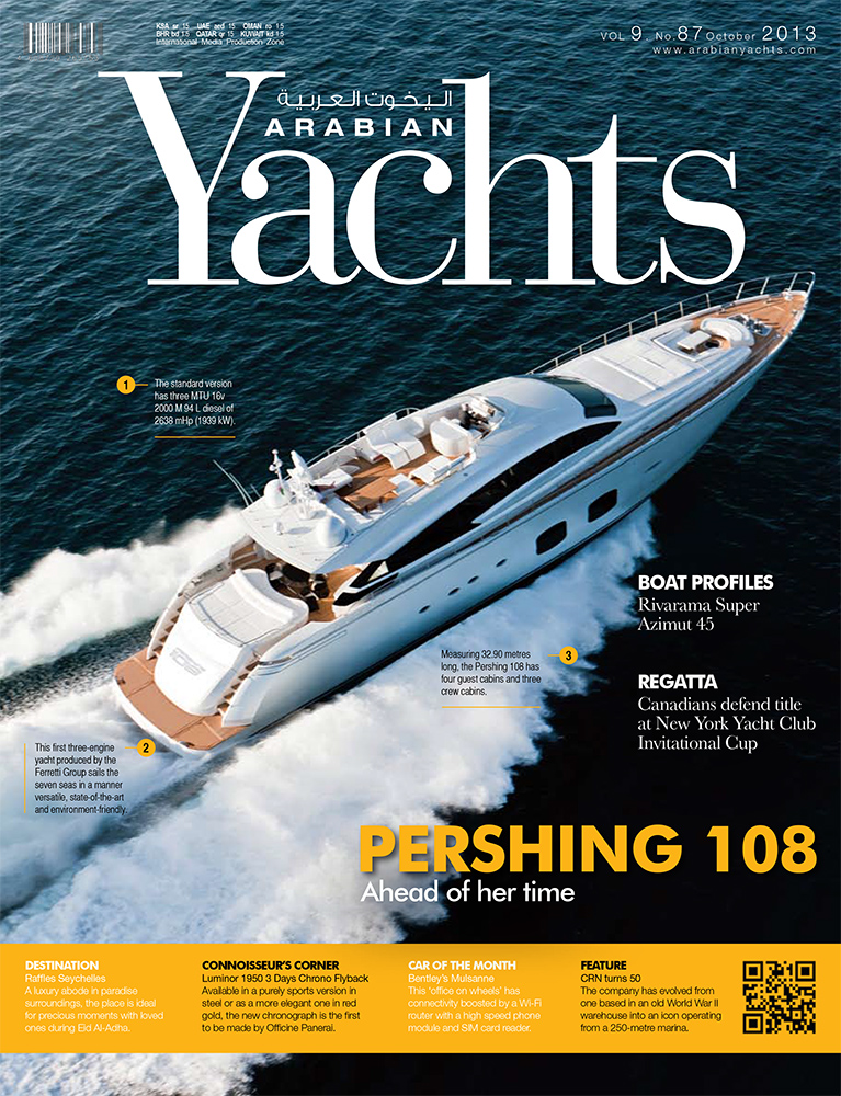 COVER---Pershing-108'---Arabian-Yachts---ottobre-'13-1